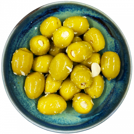 Shop Buy Olives West Country Olives Hand-Stuffed Garlic