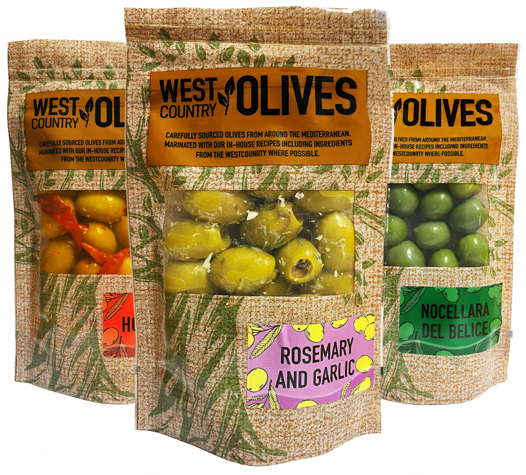 West Country Olive Triple Packs
