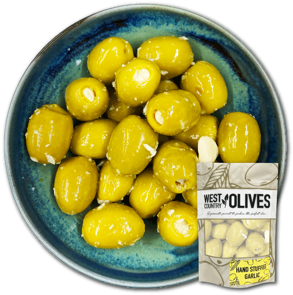 Hand-Stuffed-Garlic-Olives-Bowl-&-New-Packaging